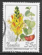 Namibia, Scott # 762 Used Flowers, 1994 - Namibia (1990- ...)
