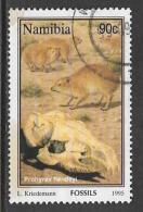Namibia, Scott # 781 Used Fossils, 1995 - Namibia (1990- ...)