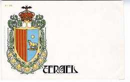 ARMOIRIES  ESCUDO DE TERUEL  N°35     TC134 - Teruel