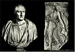 2 X Roma Museo Capitolino  -  Frammento Di Puteale  -  Cicerone / Cicero  -  Ansichtskarten Ca.1970    (6289) - Museen