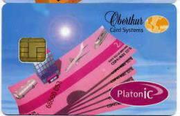 PLATON IC OBERTHUR TEST DEMO - Télécartes