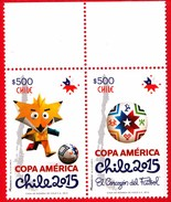 # CHILE 2015. FOOTBALL SOCCER. 2V**