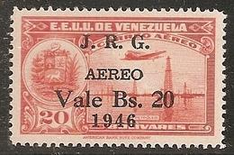 VENEZUELA 1947 - Yvert #222 (Aéreo) MNH ** - Venezuela