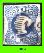 Portogallo-101.1 - 1853 - Y&T: N. 2 (o) Privo Di Difetti Occulti. - 1853 : D.Maria