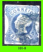 Portogallo-101.8 - 1853 - Y&T: N. 2 (o) Privo Di Difetti Occulti. - 1853 : D.Maria