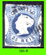 Portogallo-101.9 - 1853 - Y&T: N. 2 (o) Privo Di Difetti Occulti. - 1853 : D.Maria