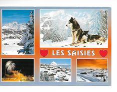 73 LES SAISIES Station Olympique / CPM Multivues - 5 - Voy. 1991 / Bon Etat - Otros Municipios