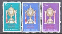 INDONESIA  645-7       *   BATMINTON   THOMAS  CUP