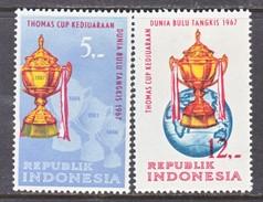 INDONESIA  724-5       *   BATMINTON   THOMAS  CUP
