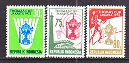 INDONESIA  837-9       *   BATMINTON   THOMAS  CUP