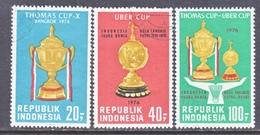 INDONESIA  962-4       (o)   BATMINTON   THOMAS  CUP