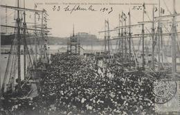 22)  PAIMPOL  - Vue Générale De La Procession à La Bénédiction Des Goelettes Islandaises - Paimpol