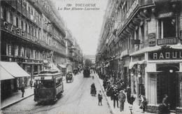 31)   TOULOUSE - La Rue Alsace Lorraine  (  Coiffeur  RAOUL  ) - Toulouse