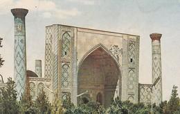 OUZBEKISTAN---SAMARKAND--shir Dar Madrassah.----voir 2 Scans - Uzbekistan