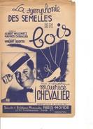 Partition- La Symphonie Des Semelles En Bois - Maurice CHEVALIER -  Paroles : Willemetz- Musique: V. SCOTTO - Non Classés