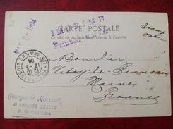 CANADA TROIS RIVIERES Pour VITRY LE FRANCOIS - Le Boulevard Et Partie Du Havre -griffe Morisset St Georges Beauce