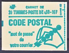 France 1893 C1a Conf 8 Carnet Marianne De Bequet Variété Point Verso Ouvert Neuf ** TB MNH  Sin Charnela - Carnets