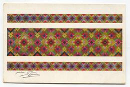 Carpet, Rug, Teppich, Ethnic - RUSSIA, Old Postcard 1918. K.u.K. Seal, Censorship - Europe
