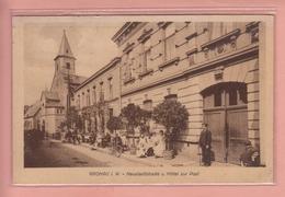 ALTE ANSICHTSKARTE DEUTSCHLAND - GERMANY -   GRONAU - HOTEL ZUR POST - Gronau
