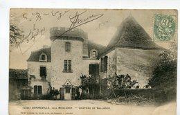 CPA  24  :  BONNEVILLE   Château De Valladou   A  VOIR  !!!!!!! - France