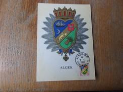 FRANCE (1960) ALGER - Maximumkaarten