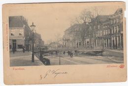 Alkmaar - Voordam - (Brug, Winter, Schaatsers) - (Noord-Holland / Nederland) - Alkmaar