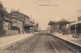39 - CHAUSSIN - Jura - La Gare - France