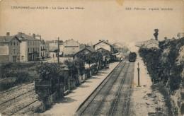 43 - CRAPONNE-SUR-ARZON - Haute-Loire - La Gare Et Les Hôtels - Craponne Sur Arzon