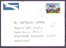 South Africa To Pakistan Used Traveled Cover (ENV-09)