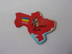 Magnet Savane Brossard Ukraine Zèbre - Tourisme