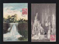 Bresil - Lot De 2 Cartes - Repreza Do Parque, Bello Horizonte, Minas + Grotte Xiririca, Caberna Tapagem - Brazilië