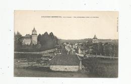 G-I-E , Cp , 87 , COUSSAC BONNEVAL , Vue D'ensemble Avec Le Château - Autres Communes