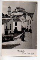 REF 268  : CPA ESPAGNE MARBELLA Calle Tipica E Iglesias Parroquial - Espagne