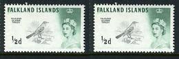 1963/66 - FALKLAND   Catg. Mi. 123XY - NH - (CAT85635.8) - Falkland