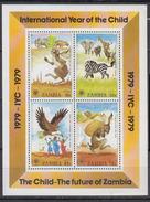 ZAMBIE    1979         N ° 193 / 196   +  BF  5       COTE   8 , 75   EUROS - Zambie (1965-...)