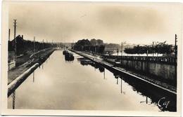 Saint-Quentin NA3: Le Canal Et Les Ecluses - Saint Quentin