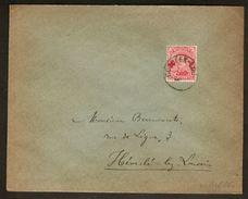Nr. 153 Op Brief Met Rondstempel CORBEEK - LOO Verstuurd Naar HEVERLEE ; Staat Zie Scan ! - 1918 Croix-Rouge
