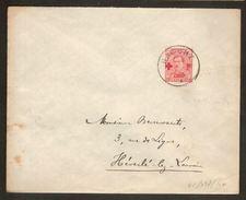 Nr. 153 Op Brief Met Rondstempel HAECHT Verstuurd Naar HEVERLEE ; Staat Zie Scan ! - 1918 Croix-Rouge