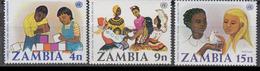 ZAMBIE    1977        N ° 174 / 176          COTE   1 , 00   EUROS         ( D 36 ) - Zambie (1965-...)