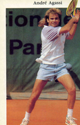 SPORTS TENNIS    L 47   /  ANDRE  AGASSI  CPM / CPSM  10 X 15A - Tennis