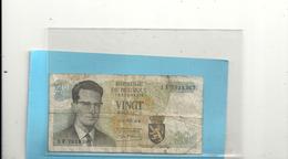 ROYAUME  DE BELGIQUE - 20 FRANCS - 15-6-1964 . N° 1 F 7918367 . - [ 6] Treasury