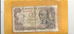 EL BANCO DE ESPAGNA . 100 PESETAS . 17-11-1970 - N° 7P2224026 . - [ 3] 1936-1975 : Régence De Franco