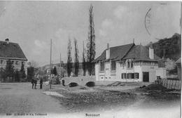 BONCOURT → Dorfstrasse Mit Passanten Anno 1910 - JU Jura