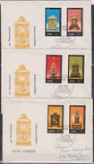 DDR FDC1975 Nr.2055 - 2060 Alte Uhren  (d 29 ) - FDC: Enveloppes