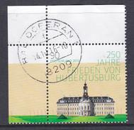 BRD 2013 Mi-Nr. 2985, 250 Jahre Frieden Von Hubertusburg,  Gestempelt Siehe Scan - BRD