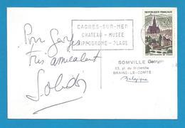 (A352) Signature / Dédicace / Autographe Original De Suzy Solidor - Chanteuse, Actrice Et Romancière Française - Autografi