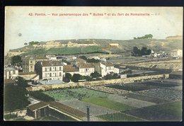 Cpa  Du 93  Pantin --  Vue Panoramique Des Buttes Et Du Fort De Romainville     JIP85 - Pantin