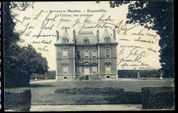 Cpa  Du  78  Ecquevilly -- Le Château , Face Intérieure   -- Environs De Meulan      JIP85 - Meulan