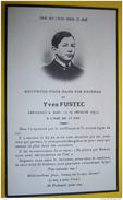 IM41  IMAGE PIEUSE MORTUAIRE YVES FUSTEC 1932 - Andachtsbilder