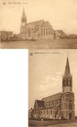 Zandvoorde ( Bij Yper ) : De Kerk  --  2 Kaarten - Ieper
